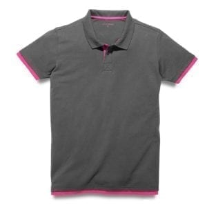 310 MEN'S MAGENTA ACCENT POLO SHIRT