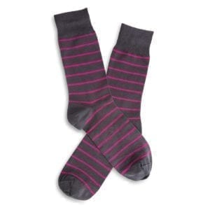 214 MEN'S STRIPED SOCKS