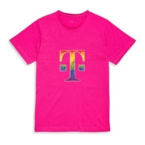410 MEN'S T-SHIRT LOGO KALEIDOSCOPE